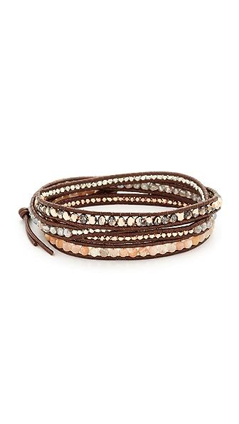 Chan Luu Wrap Bracelet - Sunstone Mix