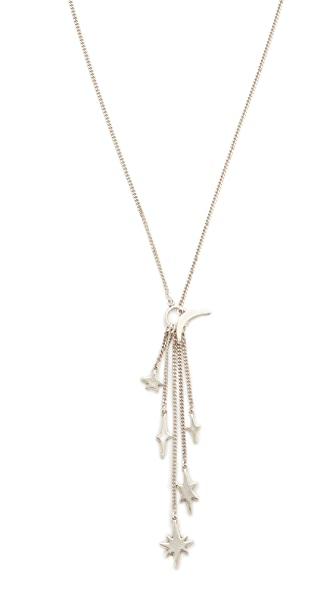 Chan Luu Fringe Necklace - Silver
