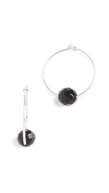 Chan Luu Onyx Earrings