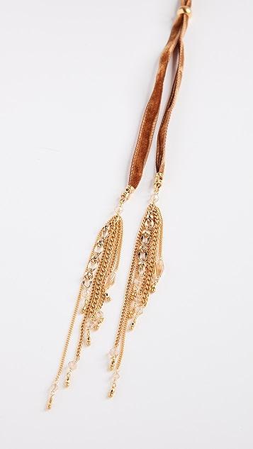 Chan Luu Velvet Necklace