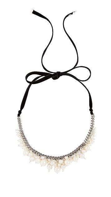 Chan Luu Cream Swarovski Imitation Pearl Necklace