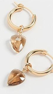 Chan Luu Whiskey Quartz Earrings