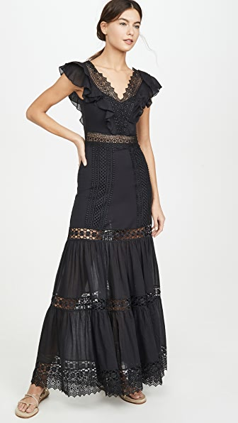 Charo Ruiz Aida Long Dress