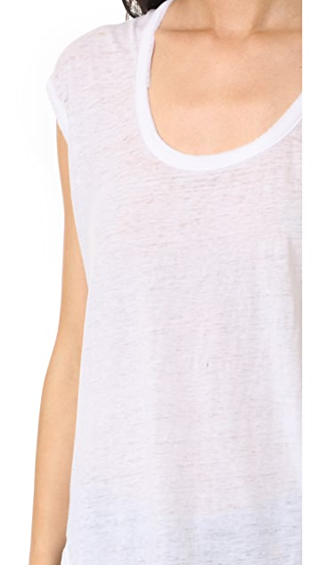Chaser Cap Sleeve Muscle Tee