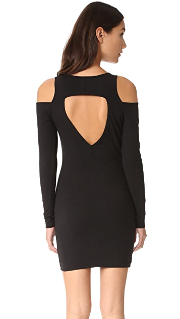 Chaser Cold Shoulder Mini Dress