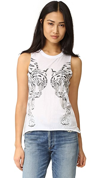 Chaser Mirror Tigers Tank