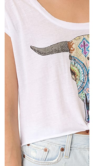 Chaser Painted Skull Tee