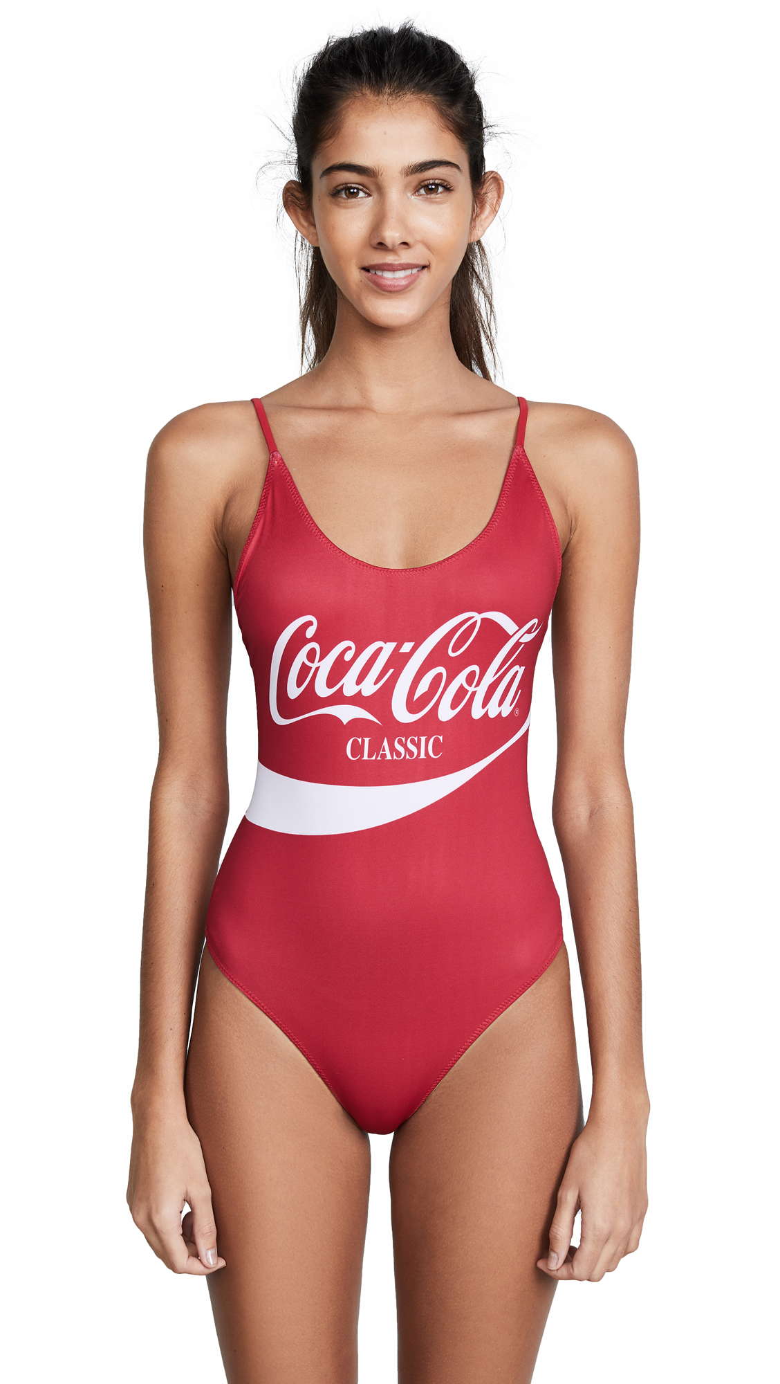 Chaser Coca Cola Classic One Piece Swimsuit