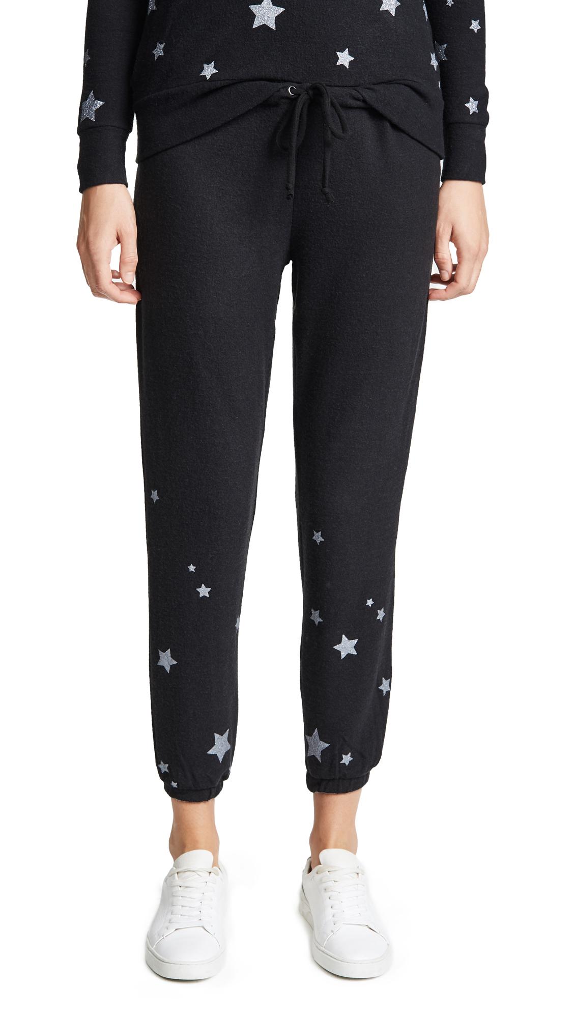 Starry Pant Sweats, True Black