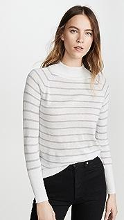 Chaser Striped Metallic Sweater