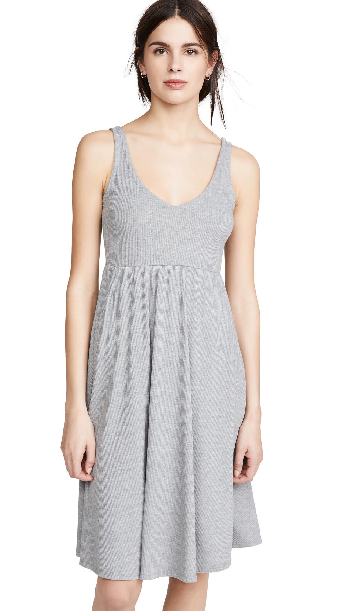 Buy Chaser Rib Double V Dress online beautiful Chaser Clothing, Dresses