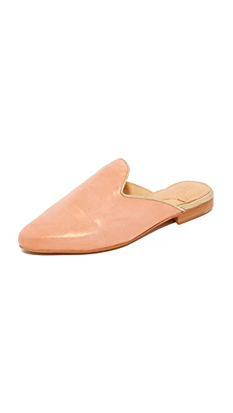 Chatelles Edgar Mules - Nude/Gold