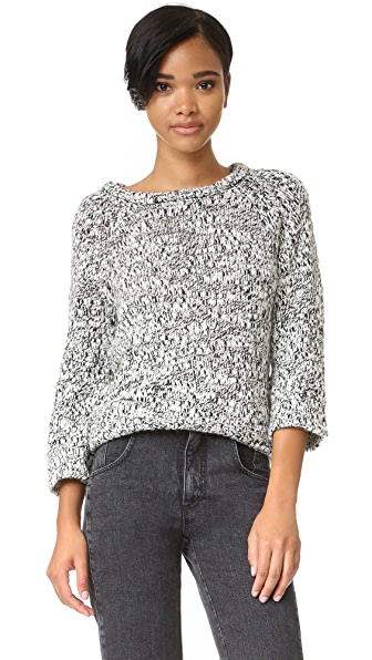 Cheap Monday Hype Knit Sweater - White/Black