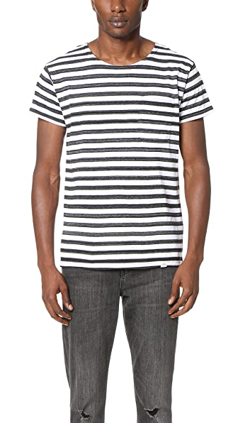 Cheap Monday Standard Stripe Pocket Tee