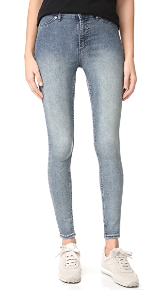 Cheap Monday High Spray Jeans - Daze Blue
