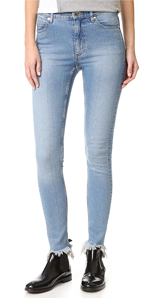 Order Now Cheap Monday Second Skin Jeans Details Review