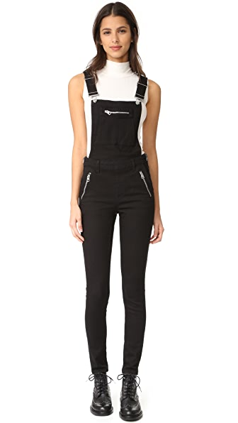 Cheap Monday Zip Dungaree Overalls