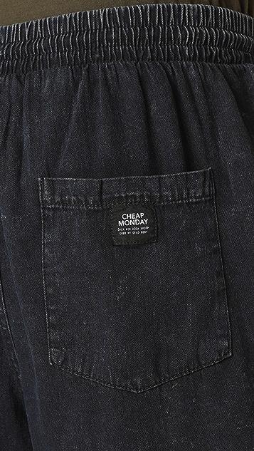 Cheap Monday King Denim Shorts