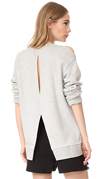 Cheap Monday Dome Sweatshirt - Warm Melange