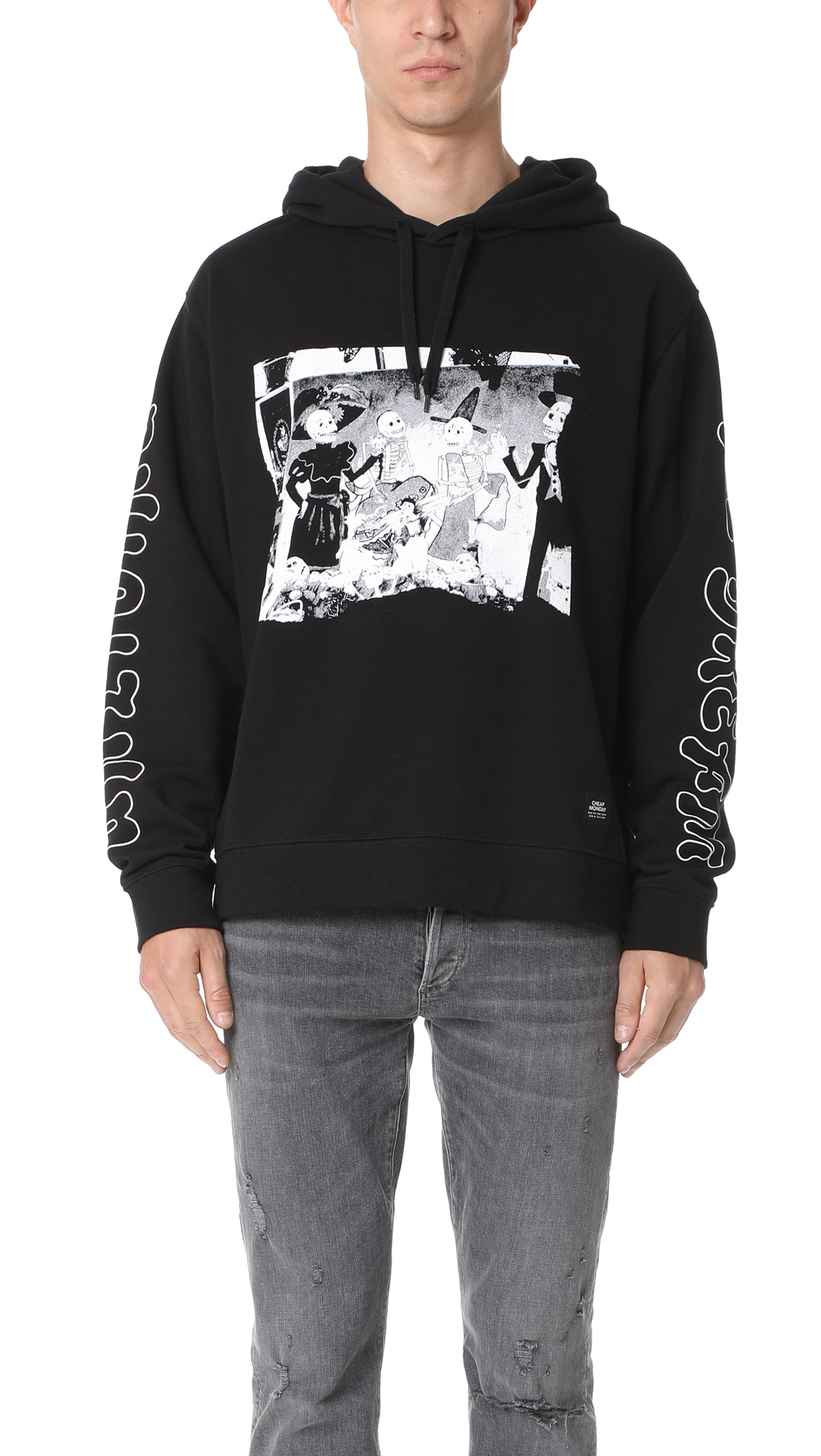 34c1105b2 Cheap Monday Pullover Hoodie | EAST DANE