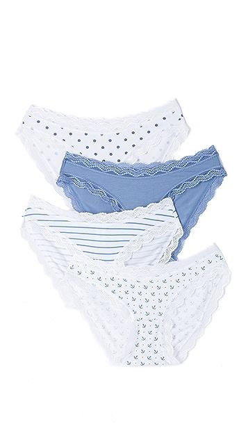 Cheek Frills Nautical Panty Pack