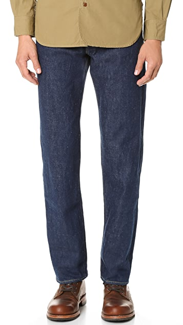Chimala Selvedge Denim Vintage Deep Rise Fit Jeans