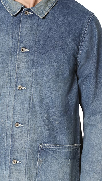 Chimala Selvedge Denim Chore Jacket