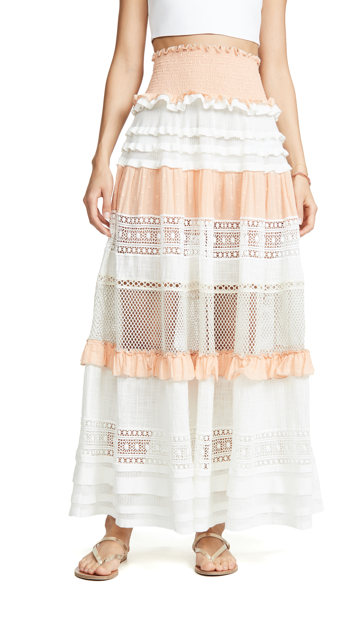 Buy CHIO online - photo of CHIO Maxi Multi Skirt / Dress