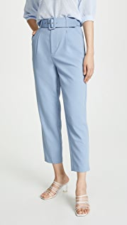 Chriselle Lim Collection Blue Stripe Pants
