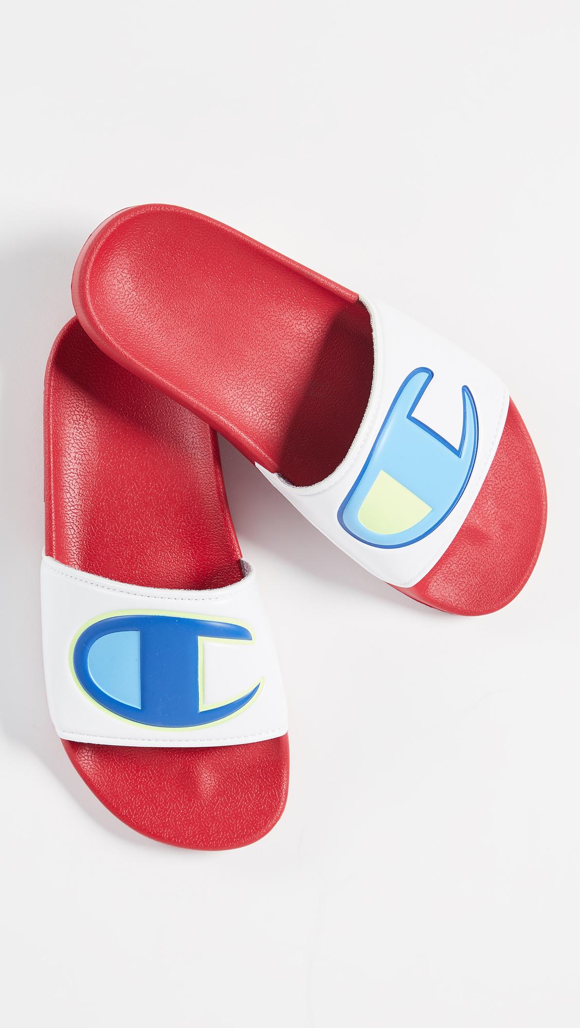 623c783c1899 Champion IPO Colorblock Slides