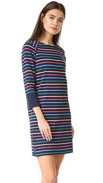 Chinti and Parker Side Button Breton Dress