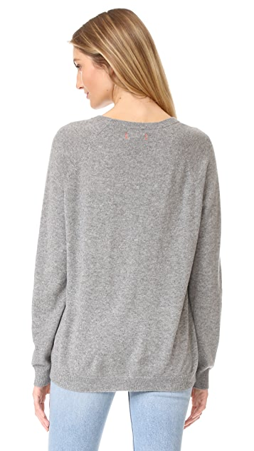 Chinti and Parker Curious Monkey Cashmere Sweater