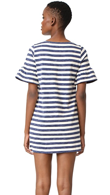 Chinti and Parker Bell Sleeve Shift Dress