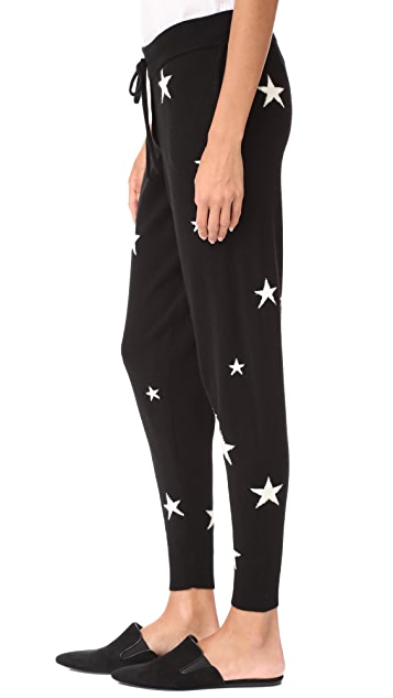 Chinti and Parker Star Cashmere Track Pants
