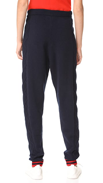 Chinti and Parker Heart Aran Track Pants