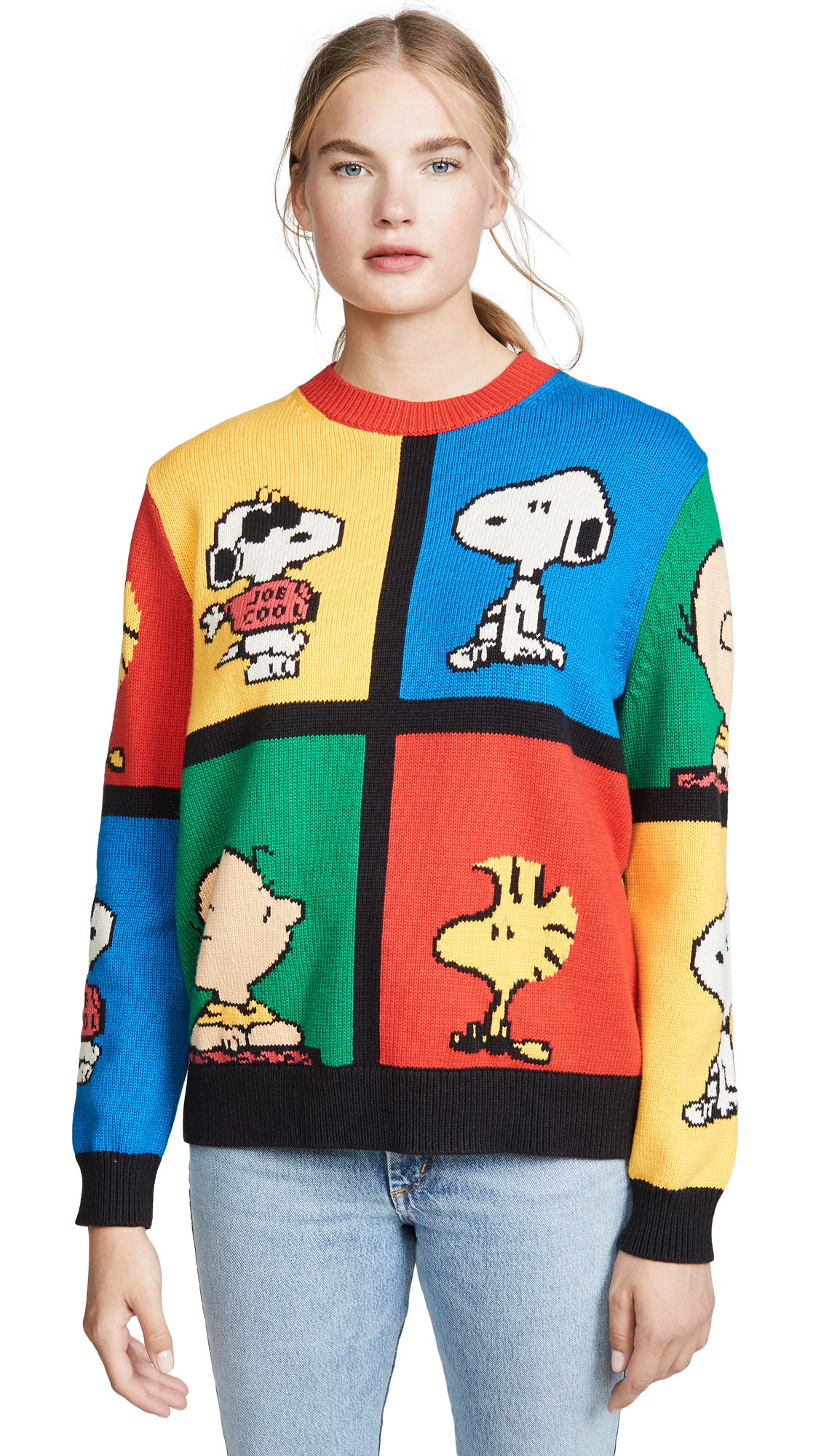 Chinti & Parker Sweaters PEANUTS POP SWEATER