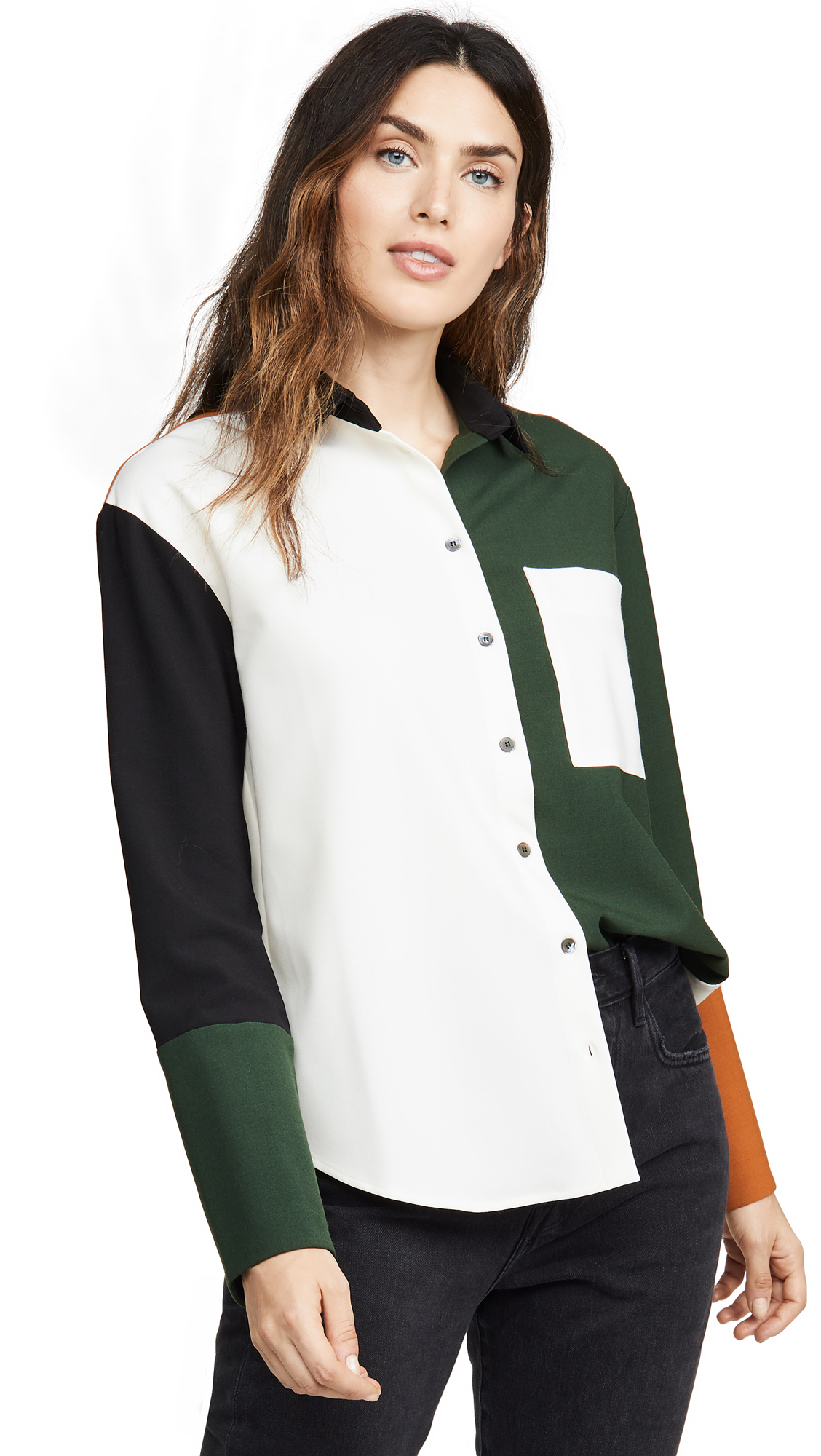 Chinti and Parker Colorblock Shirt – 40% Off Sale
