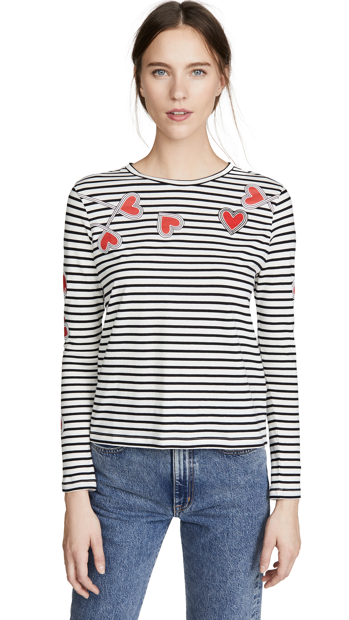 Buy Chinti and Parker online - photo of Chinti and Parker Anni Heart Tee