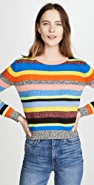 Chinti and Parker Anni Stripe Sweater