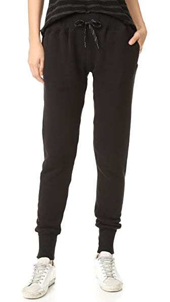 CHRLDR NOIR Slim Sweatpants - Black