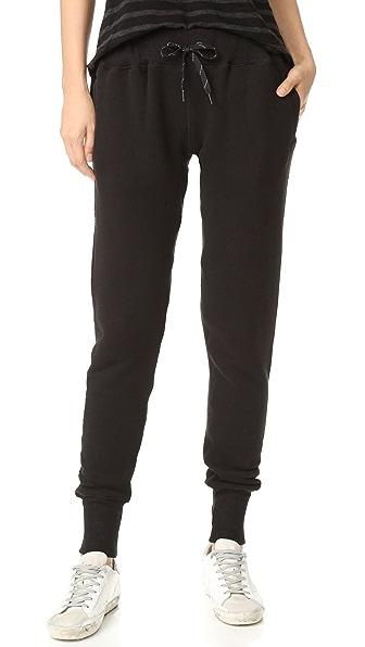 CHRLDR NOIR Slim Sweatpants
