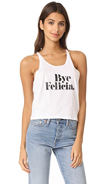 CHRLDR Bye Felicia Tank Top - White