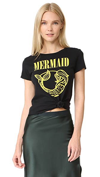 CHRLDR Mermaid T-Shirt - Black