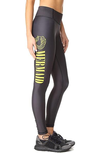 CHRLDR Mermaid Leggings In Black