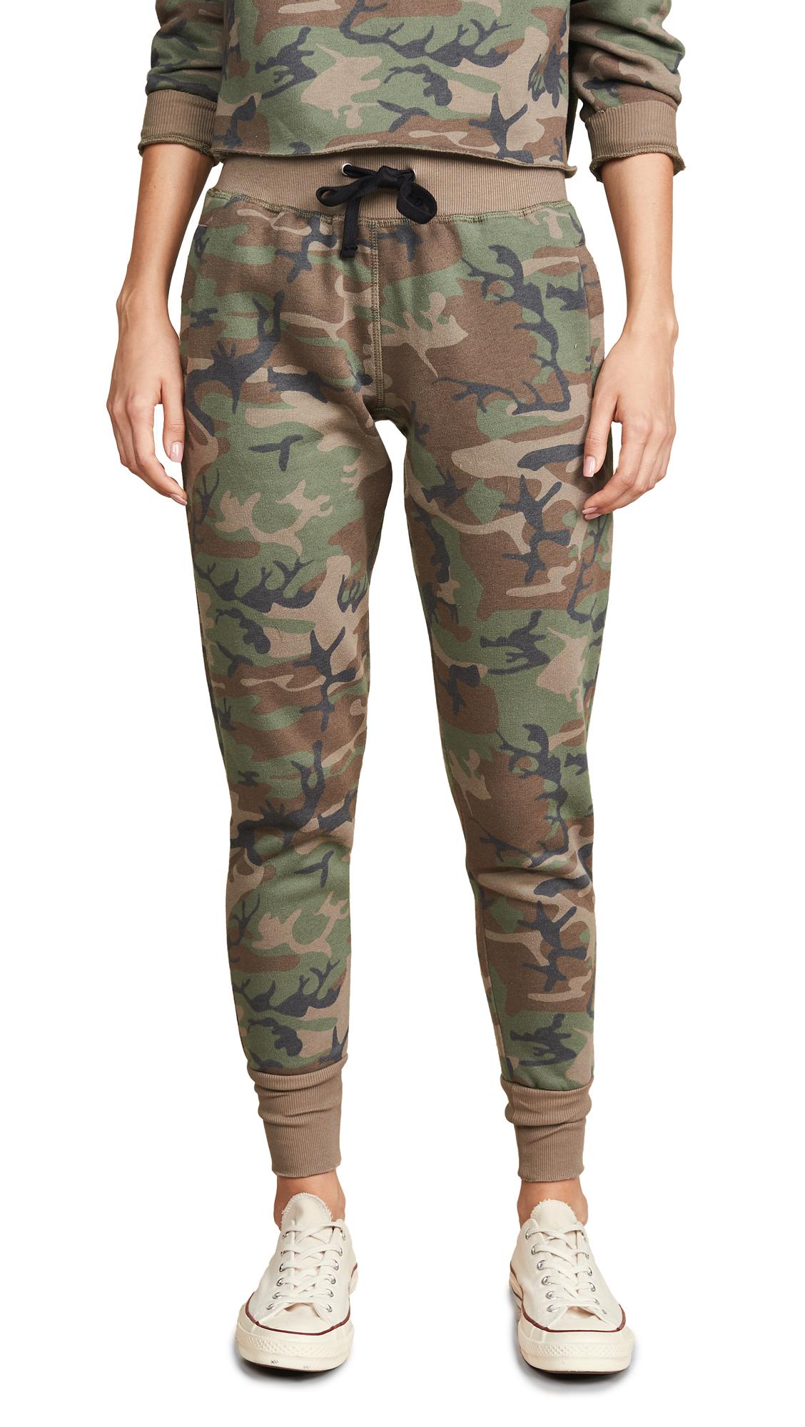 CHRLDR Camo Classic Sweatpants In Woodland Camo