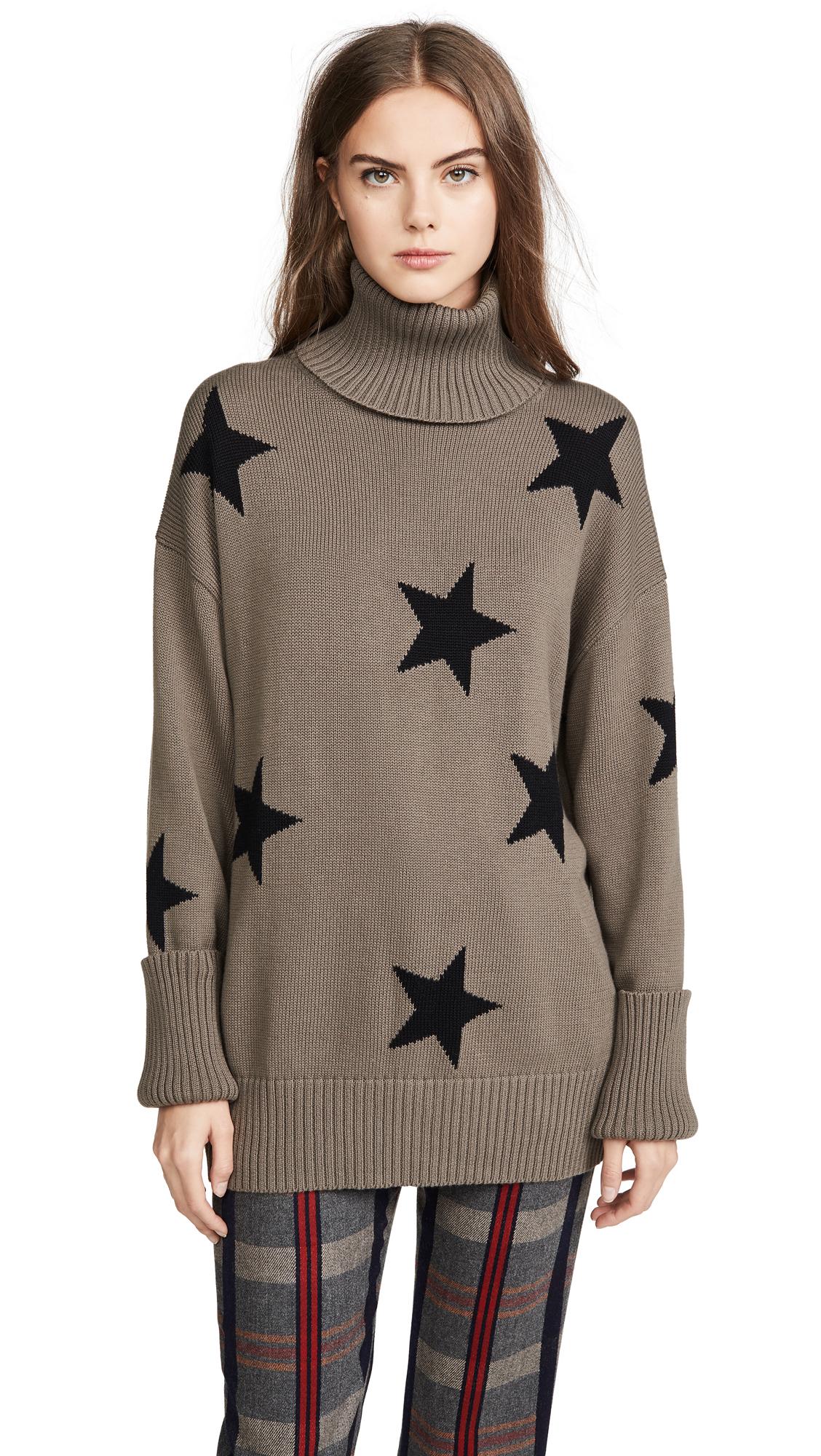 Buy CHRLDR online - photo of CHRLDR Falling Stars Turtleneck Sweater