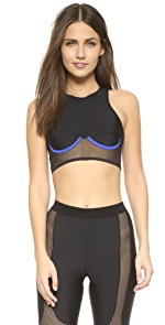 Racer Top Bra                CHROMAT