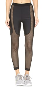 Power Mesh Running Pants                CHROMAT