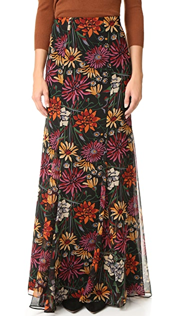 Cinq a Sept Wildflower Poseidon Skirt