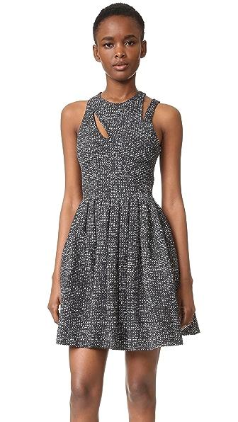 Cinq A Sept Pandora Dress - Black/White